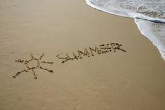 De zomer Stock Fotografie