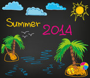 De zomer 2014_2 stock afbeelding
