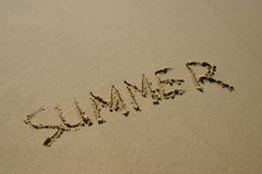 De zomer Stock Afbeelding