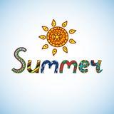 De zomer Royalty-vrije Stock Afbeeldingen