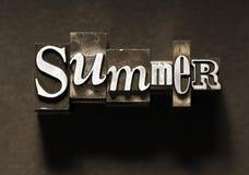 De zomer royalty-vrije stock foto