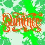 De zomer Royalty-vrije Stock Foto's