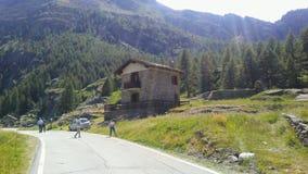De zomer in de aard van ITALIË royalty-vrije stock foto