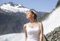 De zomer in Alaska Royalty-vrije Stock Afbeelding