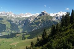 De zomer in alpen #3 Royalty-vrije Stock Afbeelding