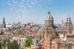 De zomer Amsterdam Stock Fotografie