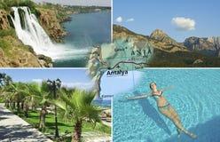 De zomer in Antalya, Turkije Royalty-vrije Stock Afbeeldingen