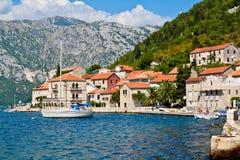 De zomer bij Adriatische overzees Stock Fotografie