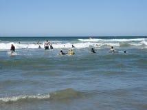 De zomer bij het strand. Stock Foto