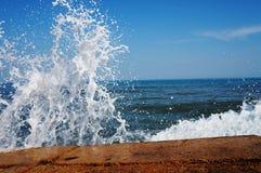 De zomer bij het Strand Stock Afbeeldingen