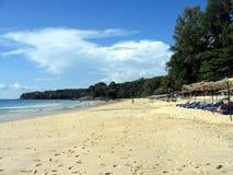 De zomer bij het strand stock foto's