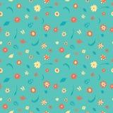 De zomer bloeit patroon royalty-vrije illustratie