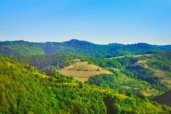 De zomer Bulgaars Landschap Stock Fotografie