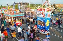 De zomer Carnaval Stock Foto's