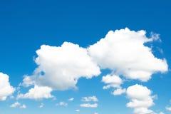 De zomer cloudscape Stock Foto's