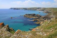 De zomer in Cornwall Royalty-vrije Stock Fotografie