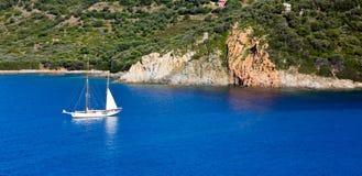 De zomer in Corsica Royalty-vrije Stock Afbeeldingen