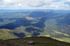 De zomer in de bergen Royalty-vrije Stock Fotografie