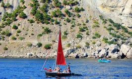 De zomer in de Krim Stock Afbeeldingen