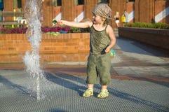 De zomer in de stad royalty-vrije stock foto