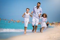 De zomer, familie en vakantieconcept Royalty-vrije Stock Afbeelding