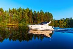 De zomer in Finland royalty-vrije stock fotografie