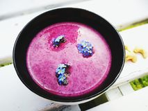 De zomer gezond ontbijt Stock Foto's