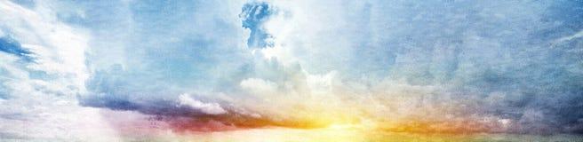 de zomer hemel Stock Foto's