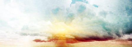 de zomer hemel Stock Afbeelding