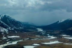De zomer in het Noordpoolgebied royalty-vrije stock fotografie