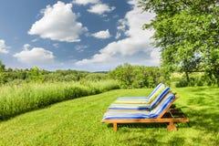 De zomer het ontspannen Royalty-vrije Stock Afbeelding