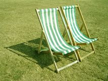 De zomer in het Park Royalty-vrije Stock Foto's