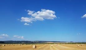 De zomer in het Platteland van Duitsland stock afbeeldingen