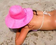 de zomer hoed Royalty-vrije Stock Fotografie