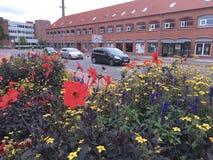 De zomer in Holstebro, Denemarken Royalty-vrije Stock Afbeeldingen