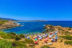 De zomer in Jijel Royalty-vrije Stock Afbeelding