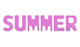 De zomer Kleurenroze stock afbeelding