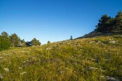 De zomer Krimmountain view Royalty-vrije Stock Afbeeldingen