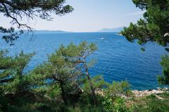 De zomer in Kroatië stock foto's