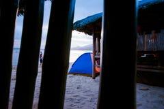 De zomer in Laiya, San Juan, Batagas stock foto's
