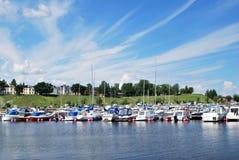 De zomer in Lappeenranta royalty-vrije stock afbeelding