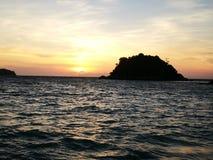 De zomer, Lipe-eiland, Thailand stock foto