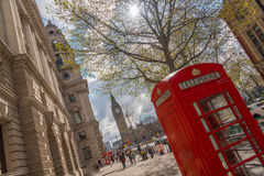 De zomer in Londen Royalty-vrije Stock Foto
