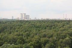De zomer Moskou Royalty-vrije Stock Fotografie