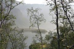 De zomer in noordelijke bergen Stock Afbeelding