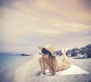 De zomer ontspant stock fotografie