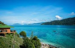 De zomer op het beste eiland in Thailand Stock Afbeelding