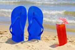 De zomer op het strand Stock Fotografie