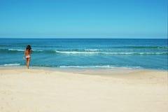 de zomer op het strand Royalty-vrije Stock Foto