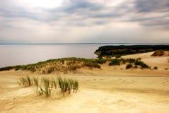 De zomer op het strand stock afbeelding